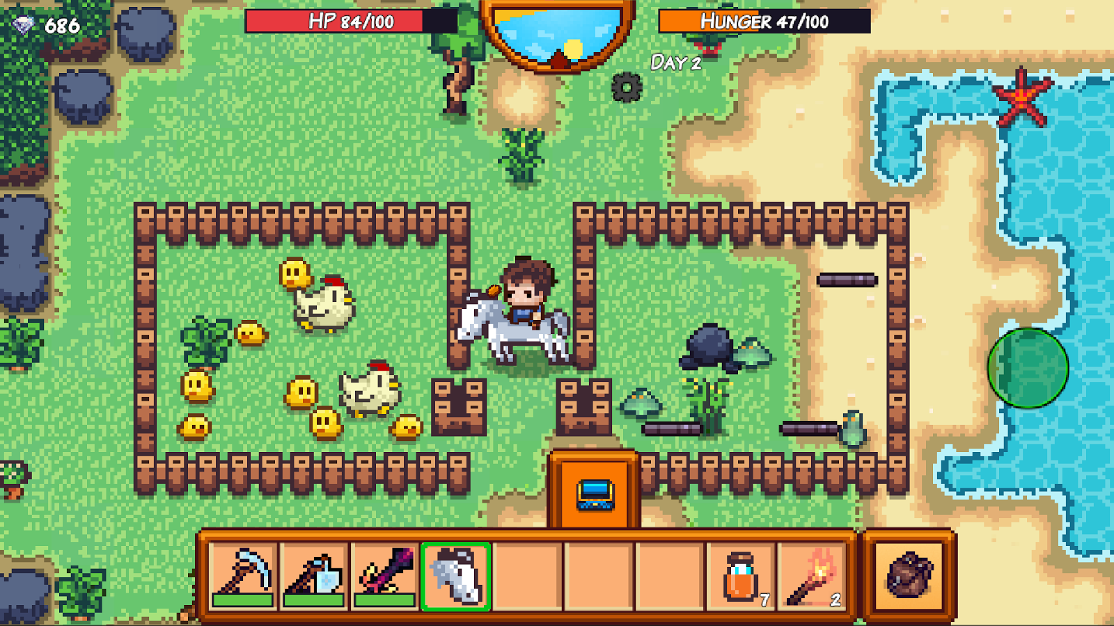 Pixel Survival Game 3 Screenshot 2