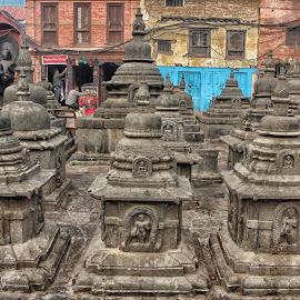Faith of Buddha  by Sagar Shahi - Artistic Objects Antiques ( faith, travel, antique, buddha, nepal )