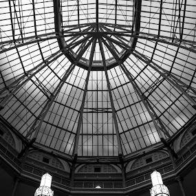 by Terri Mills - Black & White Buildings & Architecture (  )