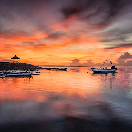 Mertasari Beach by Suyoto Achmadi - Landscapes Sunsets & Sunrises ( bali, indonesia, sunset, mertasari, sunrise )