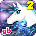 Little Unicorn Runner Horse Decoration Salon APK for Bluestacks