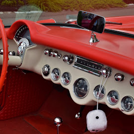 Vette dash panel by Monroe Phillips - Transportation Automobiles