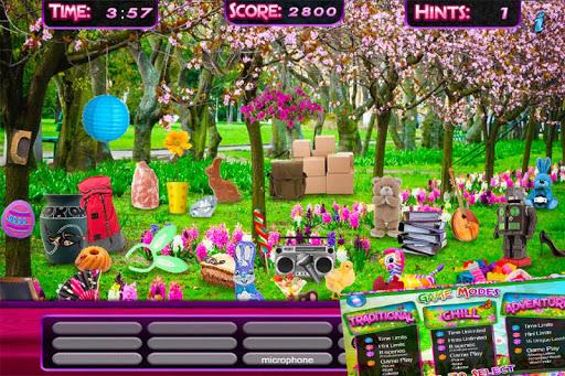 Hidden Objects Spring Gardens - screenshot