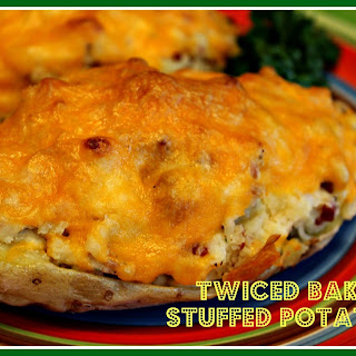 Twiced Baked Stuffed Potatoes!