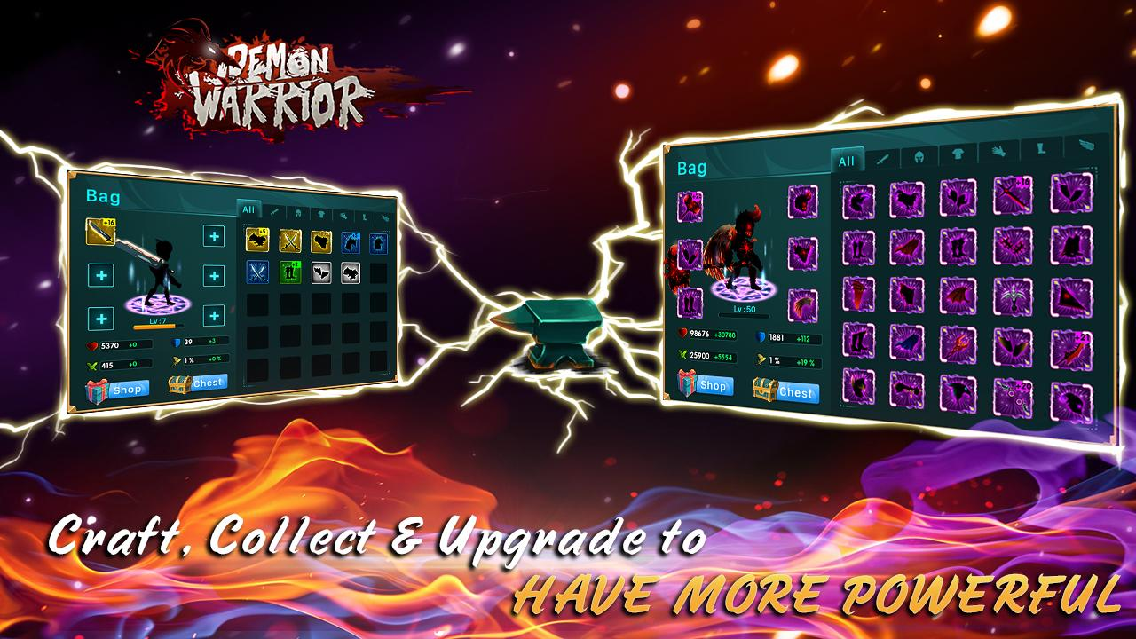 Demon Warrior Screenshot 2