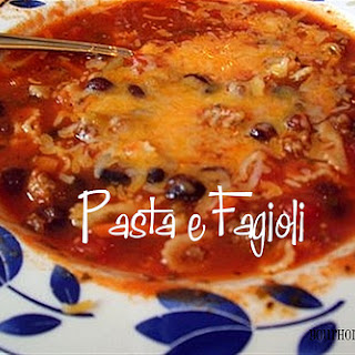 Friday Favorite – Pasta e Fagioli
