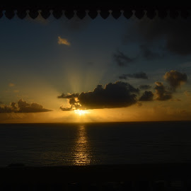 Good Morning, Sunshine! by Liz Rosas - Landscapes Sunsets & Sunrises ( st. croix, sunshine, sunrise, morning, virgin islands )