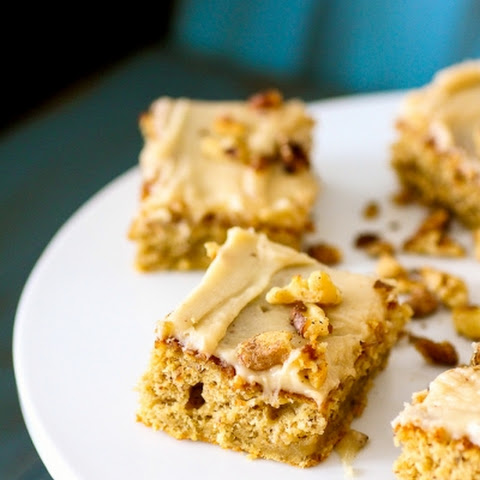 Roasted Banana Bars with Browned Butter Frosting