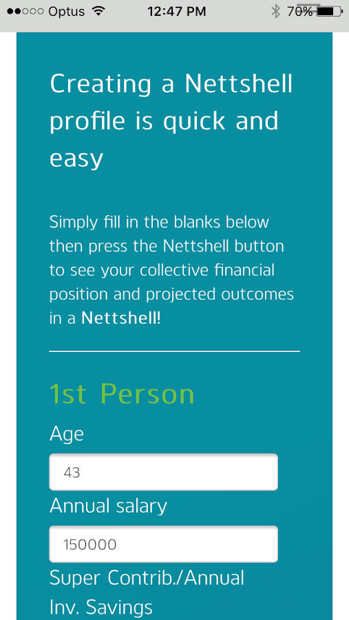 Nettshell Screenshot 1