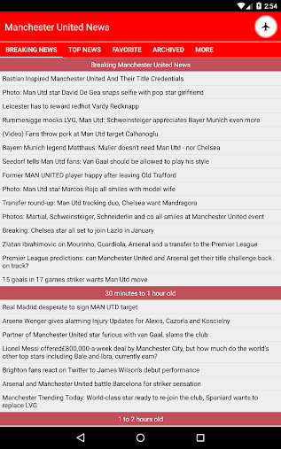 Latest Manchester United News APK