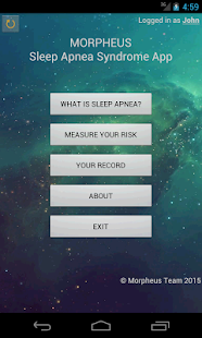 Morpheus: Sleep Apnea Syndrome- screenshot thumbnail