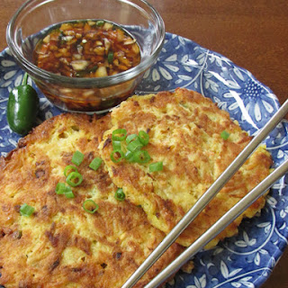 Korean Vegetable Pancake (Jeon)