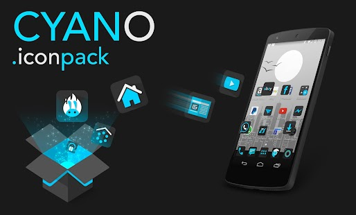 Cyano - Icon pack- screenshot thumbnail