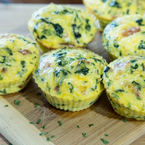 Keto Bacon and Egg Florentine Muffins {& Some Weight Loss Updates}