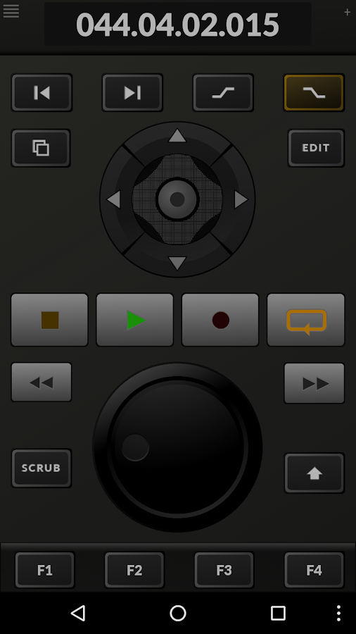 TouchDAW Screenshot 2
