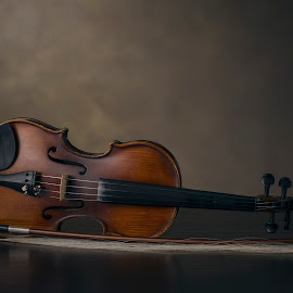 Violin by Renatas Valkiūnas - Artistic Objects Musical Instruments