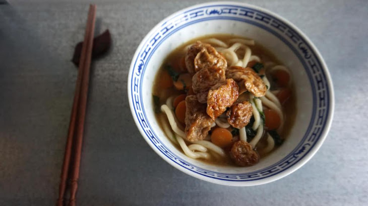 miso udon noodle soup with tamago wakame sweet potatoes seattle miso ...