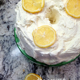 Angel Food Cake Mix Lemon Recipes