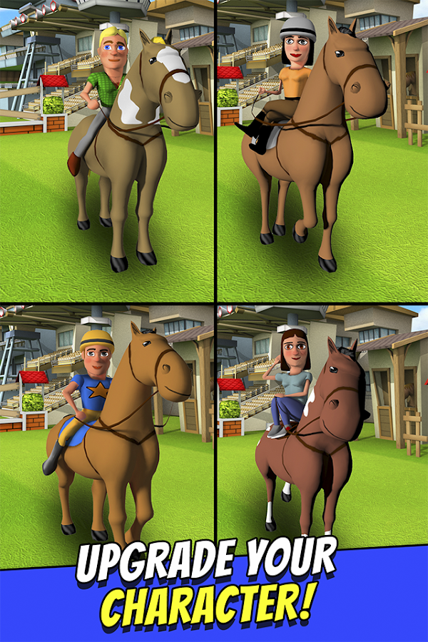 Cartoon Horse Riding Game Free Screenshot 3