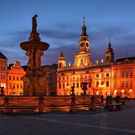 České Budějovice by Miloš Kluiber - Buildings & Architecture Architectural Detail