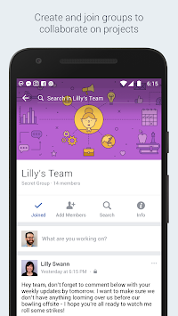 Workplace By Facebook APK screenshot thumbnail 1