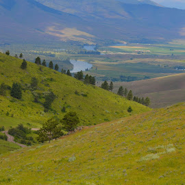 St. Ignatious by Lyn Daniels - Landscapes Mountains & Hills (  )
