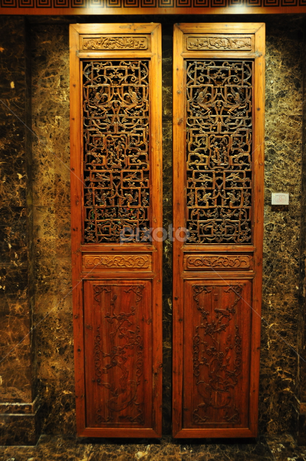 Door by Mishesh Ramesh - Buildings & Architecture Other Exteriors ( new, craft, old, wood, door )