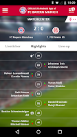 Screenshot of FC Bayern Munich