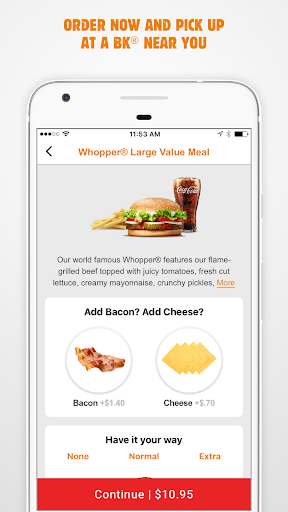 BURGER KING® App - New Zealand screenshot 4