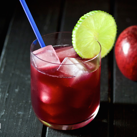 Sloe Gin & Apple Juice