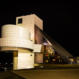 Rock and Roll Hall of Fame by Patricia Konyha - Buildings & Architecture Architectural Detail