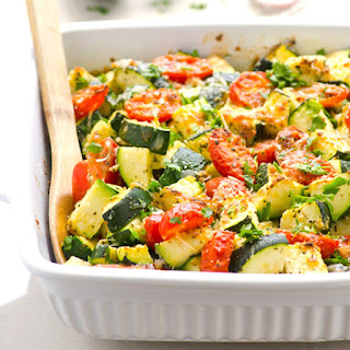 Parmesan Zucchini And Tomato Bake Recipes