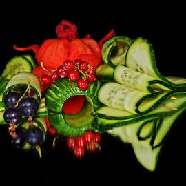 vegetables with fruits by LADOCKi Elvira - Food & Drink Fruits & Vegetables ( fruits, vegetables,  )