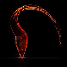 splash by Rishi Fx Artist - Food & Drink Alcohol & Drinks ( water, wine, splash, wine glass, wine glasses, curves )