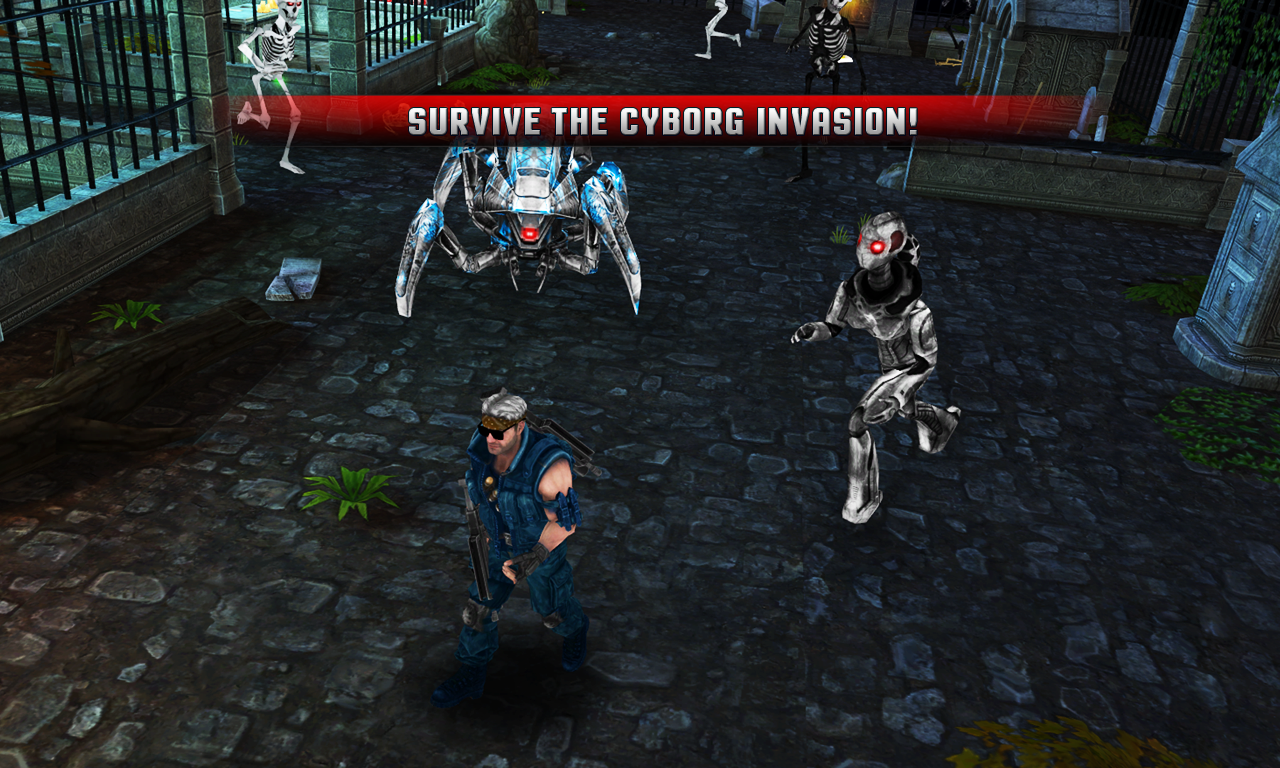 Cyborg Assassin Screenshot 8