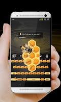Screenshot of Busy Bee GO Keyboard
