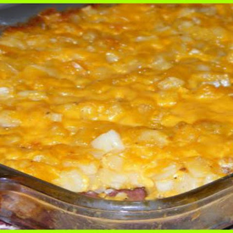 Cheesy Hashbrown Casserole 4 Smartpoints