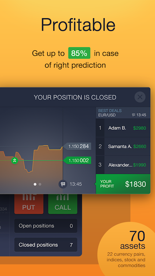 IQ Option - Binary Options Screenshot 2