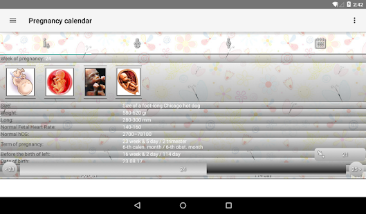 Pregnancy Calendar APK for Bluestacks