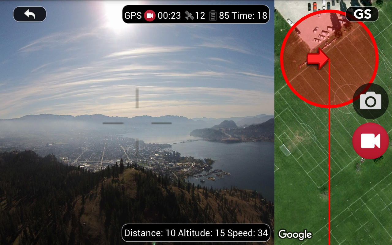 DJI Phantom Flight (v3) Screenshot 11