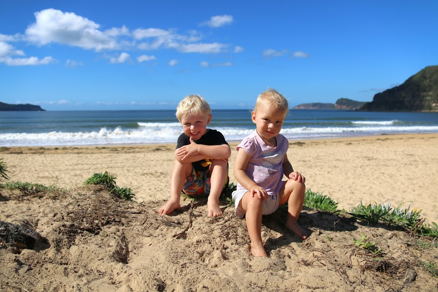 In The Dunes by Geoffrey Wols - Babies & Children Toddlers ( water, umina, sand, children, beach,  )