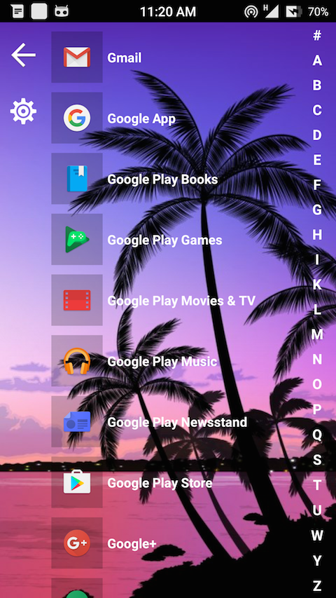 8.1 Metro Look Launcher Pro Screenshot 4