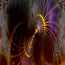 Too Little by Rick Eskridge - Illustration Sci Fi & Fantasy ( fantasy, jwildfire, mb3d, fractal, twisted brush )