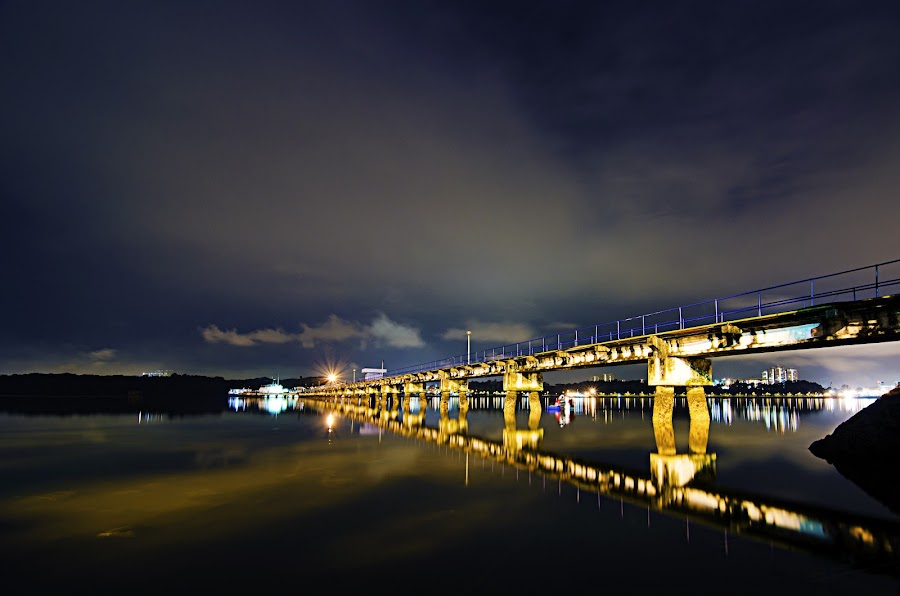 JB Maritime Jetty by Fuaad Wahab - Landscapes Waterscapes