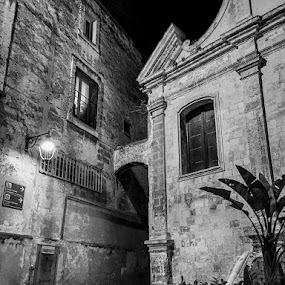 by Domenico Liuzzi - Black & White Buildings & Architecture