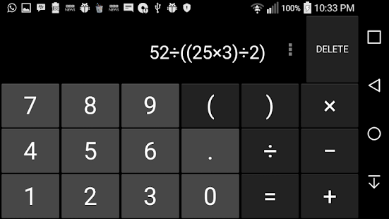 THE Calculator - screenshot