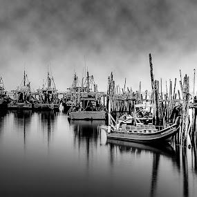 Harbor by Fotugraphar Quazi - Landscapes Waterscapes ( harbor, wallpaper, sea, landscape, boat )