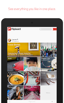 Flipboard APK screenshot thumbnail 13
