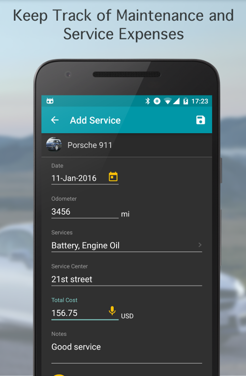 Fuel Buddy - Car Mileage Log Screenshot 13