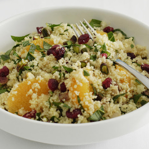 Cranberry and Pistachio Couscous Salad